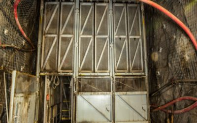 PROJECT FEATURE: The Ross Shaft at the Sanford Underground Research Facility