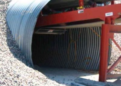 Aggregate Conveyor Tunnel