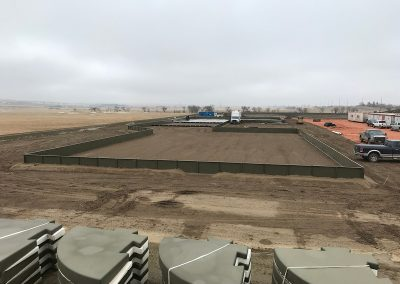Bakken Oil Field Containment