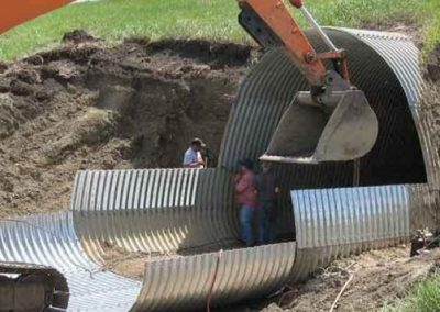 Interstate 94 Structural Plate Pipe Culvert Extension