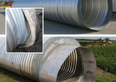 Norman County Drain Concrete Pipe Arch Extension