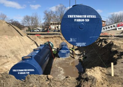 R&R Petroleum Underground Tank Install