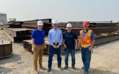 Montana US Representative, Matt Rosendale, visits our Billings location