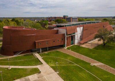 A&M University Architecture Building
